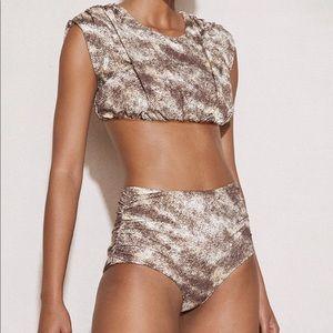 Marysia 🤎 Marine High Waisted Bikini Bottom 🤎 Sm